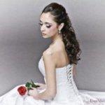 Voorbeelden van bruidskapsels voor lang en halflang haar