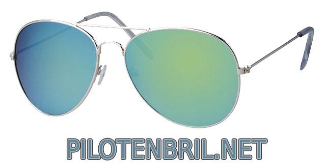 Zeegroene pilotenbril