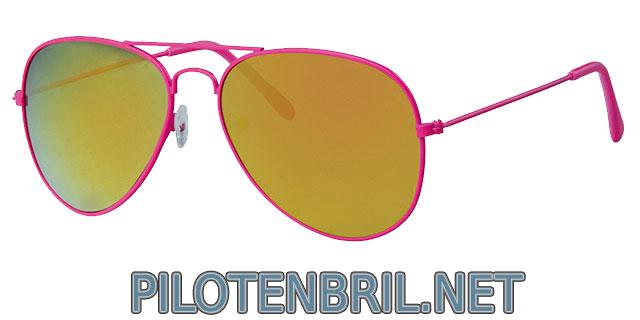 roze pilotenbril