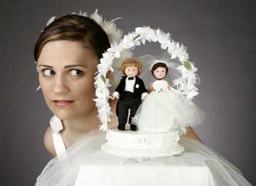 Bruidstaart decoratie