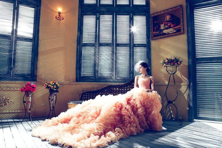 Spaanse trouwjurk