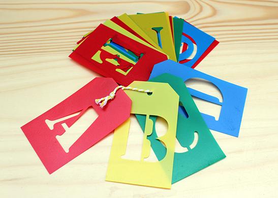 lettersjablonen