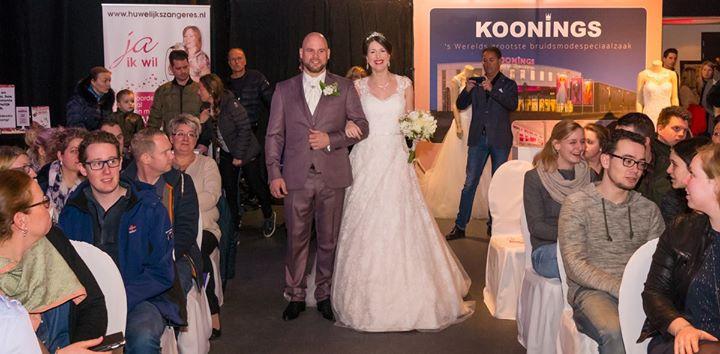 Trouwbeurs Goirle met real life wedding & workshop Bonte Raaf