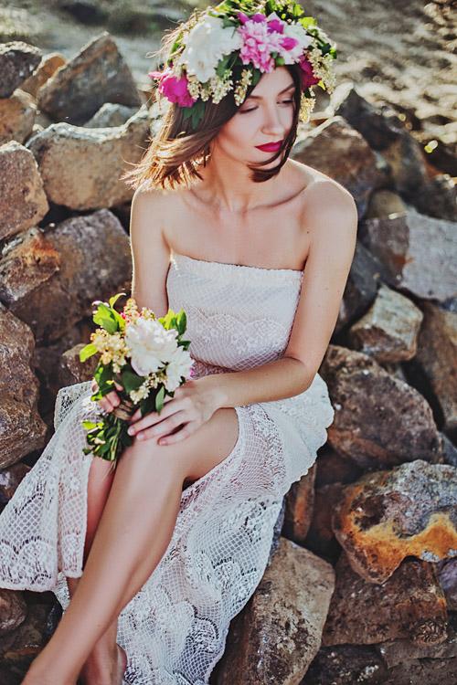 slanke bruid